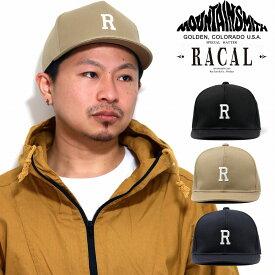 アンパイアキャップ メンズ マウンテンスミス コラボ 帽子 アウトドア racal 日本製 ラカル キャップ メンズ ラカル ナイロンベルト キャップ レディース[ cap ]父の日 ギフト プレゼント ラッピング無料 送料無料