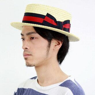 Summer men's hats, mens kannkann帽 Boater SCALA scalar (Boater)