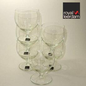 ロイヤル・レアダム(royal leerdaml)スタッキング ワイングラス 6客 送料無料(北海道・沖縄・離島は除く)