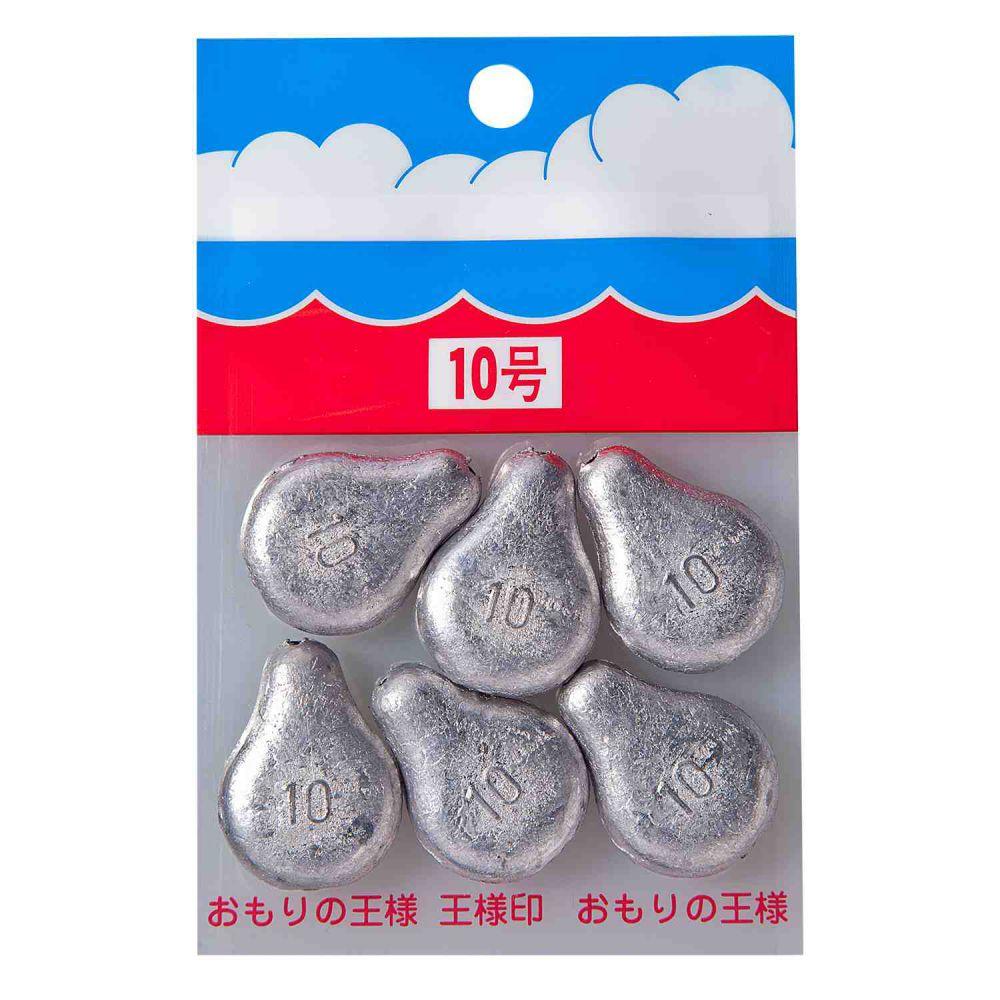 パックオモリ(小袋入)関西オタフク型 【10号】 第一精工