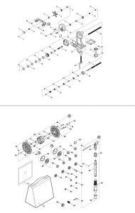 【部品】 ラインフックゴム (39366) パーツNo.53 [第一精工 リサイクラーDSフル装備]