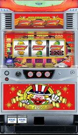 【北電子】ニューアイムジャグラーEX-C◆コイン不要機セット◆パチスロ実機【中古】