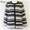 Product made in 70s big size M L LL 3L gorgeous ensemble Lady's Japan cardigan grandmother elderly person senior women's wear high married woman Gosen knit birthday present mother in senior fashion 80s Mother's Day for gift present knit Mrs. 50 generatio