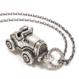 ネックレス ペンダント シルバー925 おもちゃ 自動車 いぶし銀 イタリア製