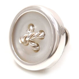 ピンブローチ ラペルピン シルバー925 丸型ボタン風 白蝶貝 イタリア製 ベルフィオーレ インポート メンズ レディース バレンタイン プレゼント ギフト