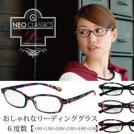 【クーポンあり】 リーディンググラス NEO CLASSICS Deux 老眼鏡 軽い やわらかい 薄い 強い シニア(老眼鏡)グラス 退職祝い 古希 還暦祝い ギフト 父の日 母の日 敬老の日 バレンタイン 贈り物 プレゼント
