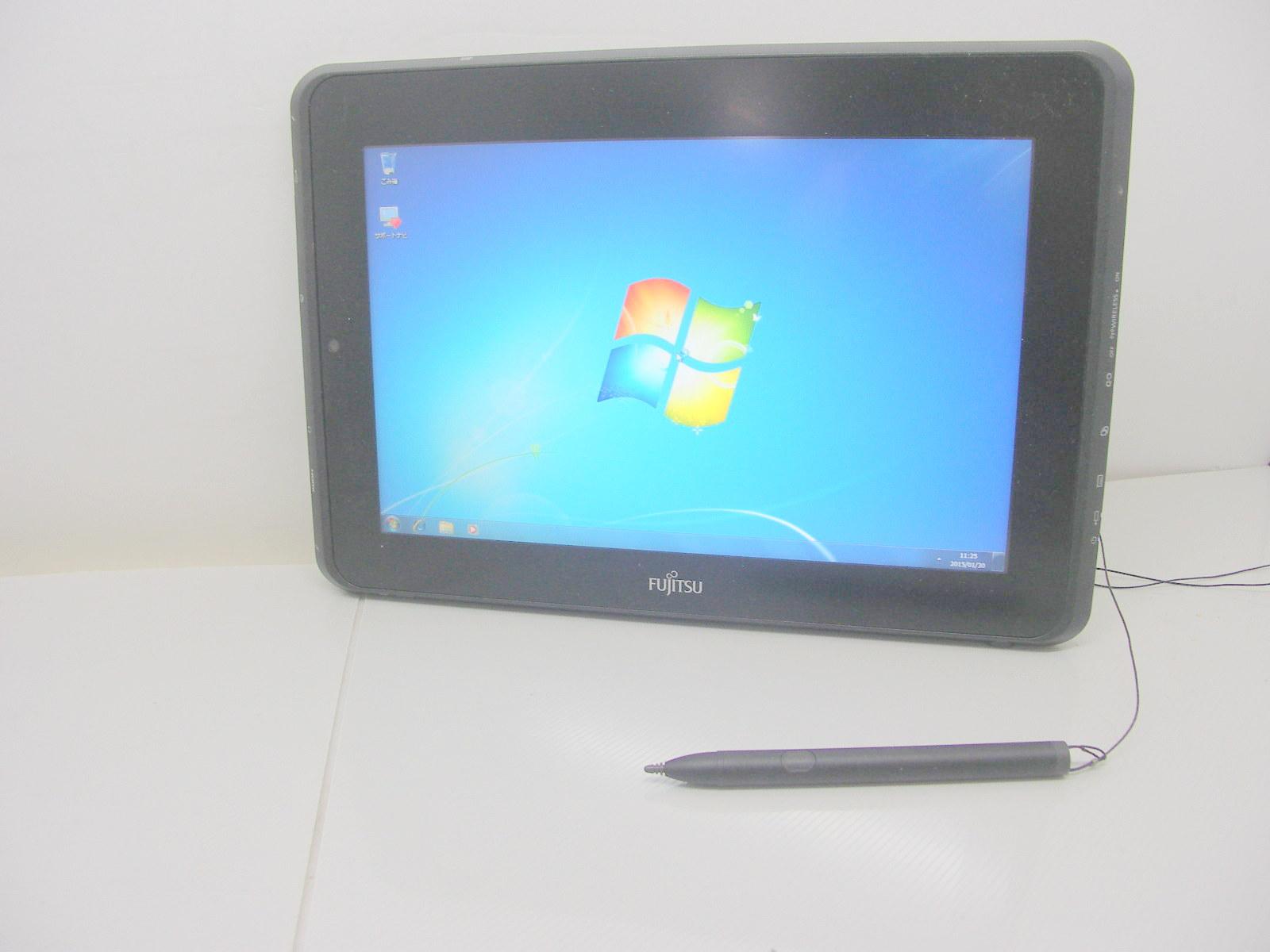 タブレットPC FMV-STYLISTIC Q550/C Windows7プレミアム内臓 ペン付【中古】【あす楽対応】【あす楽_土曜営業】