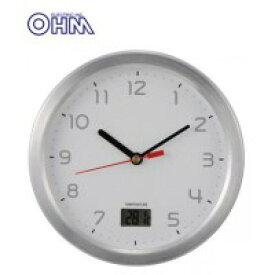 OHM お風呂用クロック&温度計 HB-T09-S
