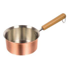 パール金属 HB-1585 銅職人 どこからでも注げる行平鍋16cm