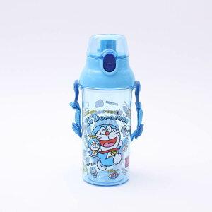 【水筒 ドラえもん】食洗機対応プラクリアボトル【ドラえもん ぬいぐるみ/PSB5TR】子供用 子ども用 軽い 軽量 直飲み プラスチック ボトル 水筒 割れにくい 熱中症予防 対策 脱水症 水分補給