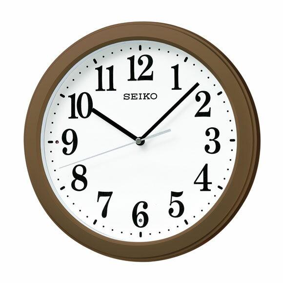 セイコー 電波掛時計 【ブラウン/KX379B】 SEIKO 時計 掛時計 掛け時計 電波 プレゼント ギフト 贈り物 お祝い 新生活 引っ越し 一人暮らし