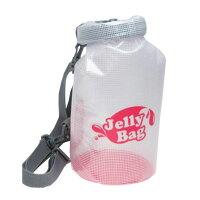 【バッグ防水】JellyBag3L【ジェリーバッグ3L】ケースポーチiPhoneスマホスマートフォンかわいい収納防水バッグセカンドバッグキャンプ自転車マリンスポーツ