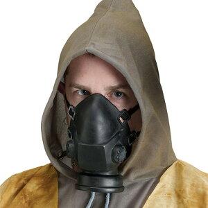 【ハロウィン コスプレ ガスマスク】 Gas Mask / Respirator 【halloween】マスク 仮面 コスチューム 男性 男 大人 手軽 簡単 忘年会 衣装 ハロウィーン アクセサリー ホラー 結婚式 二次会 余興 ハロ