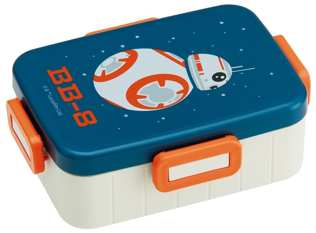 【お弁当箱 スターウォーズ】 4点ロックランチボックス 650ml 【BB-8ボーダー/YZFL7】 キャラクター スター・ウォーズ STAR WARS お弁当 ランチ 行楽 遠足 お出かけ ピクニック SSE-2
