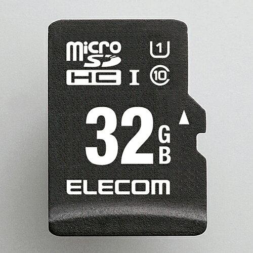 【ELECOM メモリーカード】 32GB ドラレコ/カーナビ向け 車載用microSDHCメモリカード 【MF-CAMR032GU11】 WiFi GPS 車 車載 カメラ 安全 事故 記録 高性能 データー メモリ エレコム