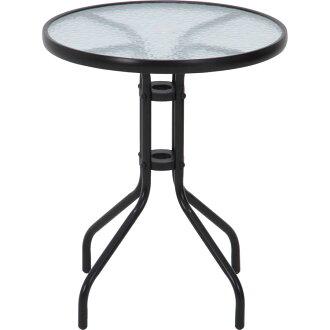 유리 테이블 블랙 FBC-01 스틸 멋쟁이 멋멋부려 후지무역 가든 테이블 세트 체어 유리 테이블 가드닝 베란다뜰테라스 가드닝 테이블