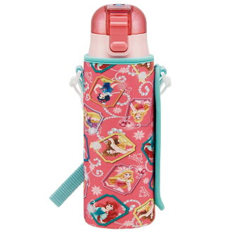 Kids for the Disney Princess goods direct drink direct chisel lunch lunch athletic meet entering a kindergarten entrance to school primary schoolchild kindergarten nursery school present child with the direct drink stainless steel bottle 470 ml bottle co