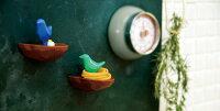 【輪ゴムホルダー生活雑貨】TORINOSU【ピンク/ブルー/グリーン】ビッテbiiteトリノス収納輪ゴム掛け輪ゴム収納インテリア雑貨キッチン雑貨キッチン収納かわいい
