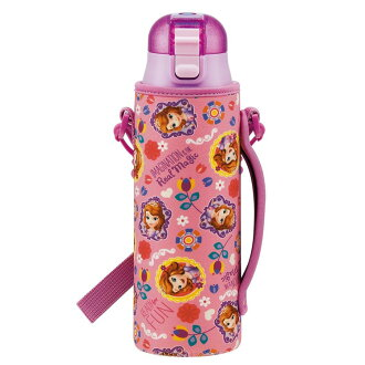 Excursion holiday making heat stroke measures for the Princess Disney Elementary School kindergarten primary schoolchild child with the stainless steel bottle 580 ml skater direct drink stainless steel water bottle bottle cover with the cover
