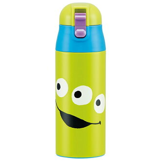One push stainless steel mug bottle character Disney water bottle bottle one push stainless steel lunch lunch child kids kindergarten primary schoolchild holiday making outing excursion athletic meet super light weight working under compact Locke