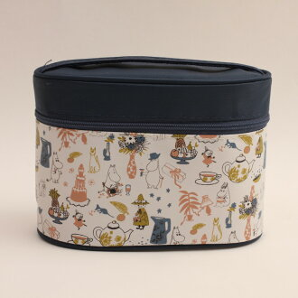 Lunch box character Mumin belonging to thermal insulation jar with super lightweight compact fork case does it; chopsticks thermal insulation jar lunch lunch primary schoolchild child kids holiday making excursion athletic meet