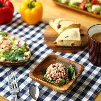 【アカシアスクエアボウル】木製食器皿プレート木製北欧カフェ食器ランチプレートインスタ映えかわいいボールオシャレ洋食器和食器ナチュラルキッチン雑貨カフェ平皿新生活引っ越し祝いウッド仕切り付きS82459・95827