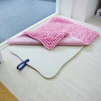 【バスマットシンプル】やわらかバスマットバスマット浴室用マットバス用品椅子エンボス断熱