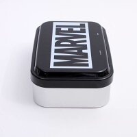 【弁当箱MARVEL】アルミ製ふんわりランチBOX【MARVELロゴ/ALDF9】MARVEL弁当箱ランチ昼食お出かけ1段アルミプレゼント