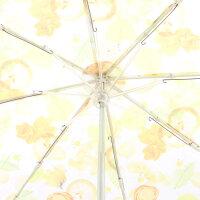 【晴雨兼用傘ハーバリウム】折りたたみ傘(UV加工仕様)【ハーバリウムイエロー/UBO1】UVカット紫外線対策熱中症予防折畳み傘雨傘日傘日よけ傘雨晴兼用晴雨兼用便利可愛いかわいいおしゃれ女性プレゼントギフトスケーター