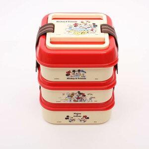 【弁当箱 ミッキー】ピクニック3段ランチボックス【Mi...