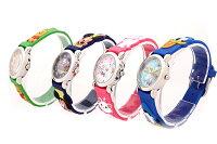 【腕時計キッズ】ディズニー/キャラクターウォッチ【ミッキー/ミニー/スティッチ/マリー/カーズ/トイストーリー/ドナルドダック/プーさん/WD-S01】【送料無料】時計ディズニーこども腕時計ウォッチかわいいサンフレイム
