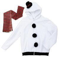 【クリスマスコスプレ】XM雪だるまパーカー■衣装仮装パーティーイベントコスチューム出し物歓迎会送迎会