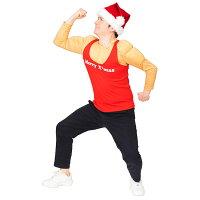 【クリスマスコスプレ】XMムキムキマッチョサンタ■衣装仮装パーティーイベントコスチューム出し物歓迎会送迎会