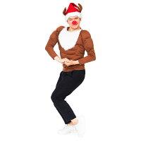 【クリスマスコスプレ】XMムキムキマッチョトナカイ■衣装仮装パーティーイベントコスチューム出し物歓迎会送迎会