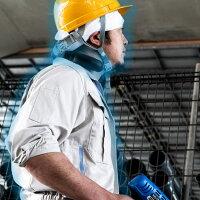 ネッククーラーProサンコーバッテリー内蔵ネッククーラーproプロIPX5防水業務用プロ用体感-17℃猛暑対策冷却熱中症対策グッズ暑さ対策ブラックNECOLNSPバッテリー付きクールアウトドア夏首元冷やす涼しいネッククーラーpro工事現場現場作業レビュー特典付き