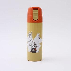 【ミニ水筒 ムーミン】ワンプッシュステンレスマグボトル【ムーミン カラー/SMBC1D】ミニサイズ ボトル プチ コンパクト ポケットサイズ 小容量 小さい 携帯用 直飲み ステンレス 水筒 マグ