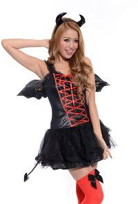 マジカルデビルブラックハロウィンコスチューム【halloween】ハロウィンコスプレ仮装衣装ハロウィーン