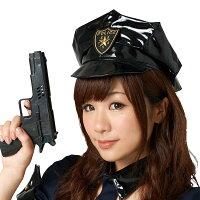 【ハロウィンコスプレ小物】トキメキポリスセットピストル■帽子ぼうし銃拳銃コスプレコスチューム警察婦人警官女性用仮装ハロウィーンパーティー結婚式二次会余興忘年会新年会出し物歓迎会送迎会