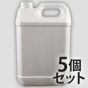 5L ポリ容器 × 5個セット 5リットルポリタンク ポリエチレン容器 5Lポリタンク ポリ容器 ポリ缶 水缶 水用 防災 災害 空ボトル 家庭 から 業務用 法人用 容器 大容量