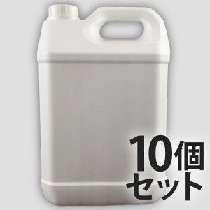 5L ポリ容器 × 10個セット 5リットルポリタンク ポリエチレン容器 5Lポリタンク ポリタンク ポリ容器 ポリ缶 水缶 水用 防災 災害 空ボトル 家庭 から 業務用 法人用 容器 大容量