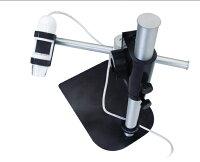 USBマイクロスコープDinoLiteシリーズ用マルチアングルブーム付スタンド