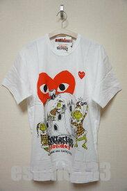 COMME des GARCON(コムデギャルソン)PLAY(プレイ)HOLIDAY PLAY(プレイ) Tシャツ(XL)/GRINCH/クリスマス