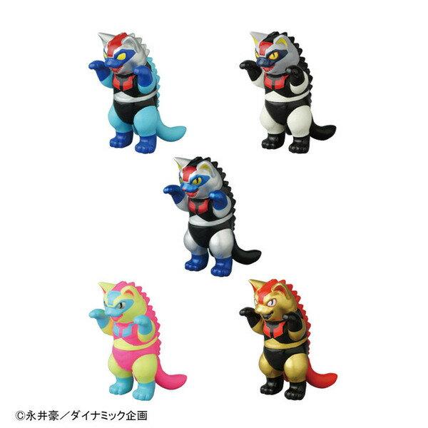 2017 DYNAMIC 豪!50!GO! in SHIBUYA メディコムトイ プレステージ VAG BOX ネゴラ マジンガーZ 5種セット/ソフビ/永井豪/
