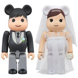 MEDICOM TOY PLUS(メディコムトイプラス)BE@RBRICK グリーティング結婚 3 PLUS 100%/ウエディングドレス/結婚式/お祝いに【4530956547978】