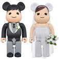 MEDICOMTOYPLUS(メディコムトイプラス)BE@RBRICKグリーティング結婚3PLUS400%/ウエディングドレス/結婚式/【4530956547985】