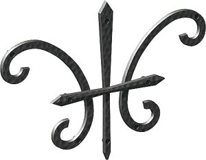 【300円OFFクーポン】 妻飾り 壁飾り妻飾り 27型 シンボル アイアン風壁飾り アルミ鋳物 エクステリア 外壁工事