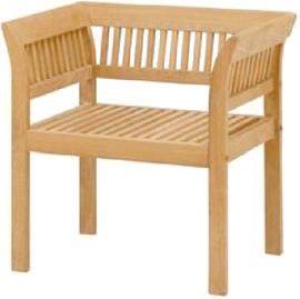 Garden Armchair Teak Style Fuga Armchair Cushion With Teak Wood Used  Veranda Chair Garden Furniture