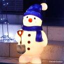 【10%OFFクーポン配布中】 イルミネーション クリスマス LED 屋外 屋外用 置物 モチーフ 人形 雪だるま イルミネーションライト イルミ…