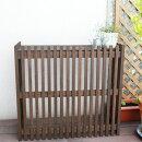 室外機カバーエアコン室外機カバー木製ガーデン家具モダンエアコン室外機カバーライト875×800×365mmダークブラウン