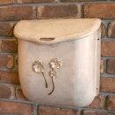 ポスト郵便受け壁掛け郵便ポストデザインポストエレガンス銅製ポストEAL-1レトロ風ハンドメイド